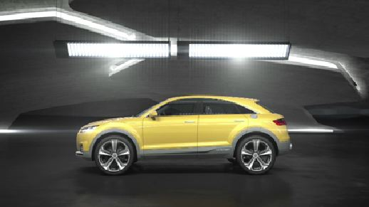 Audi TT offroad concept - Animation