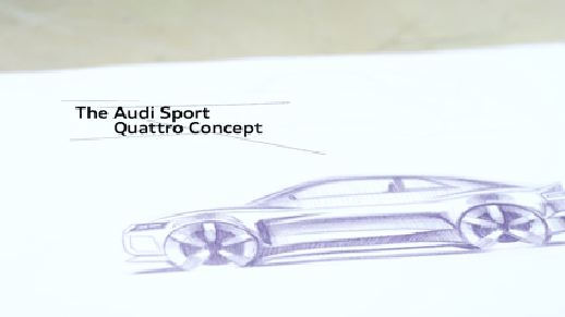 The Progress of Design - Audi sport quattro concept