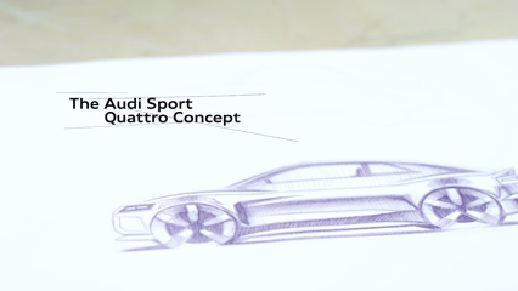 Die Entstehung des Audi Sport quattro concept