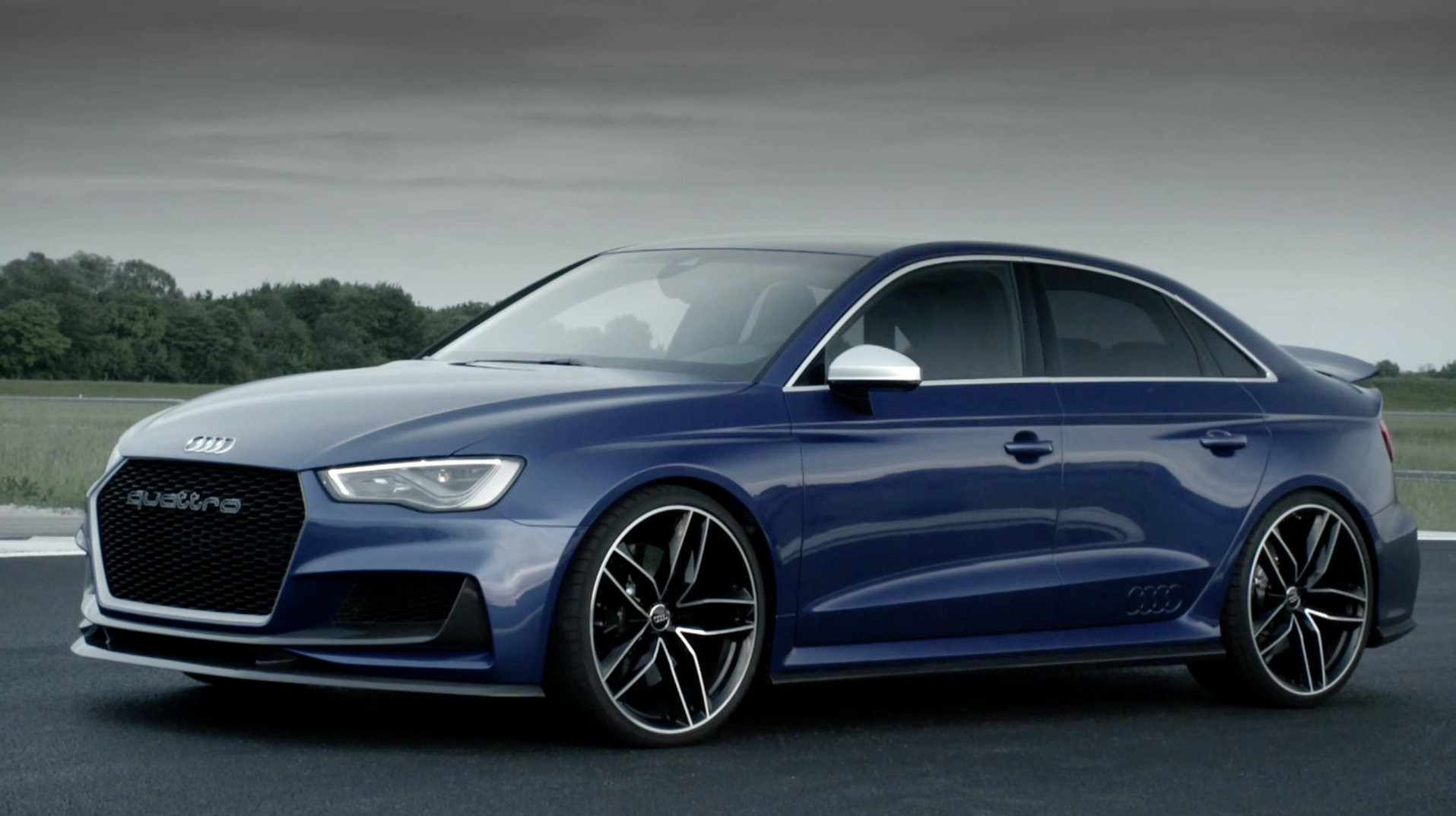 The Audi A3 clubsport quattro concept