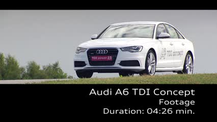 The Audi A6 TDI concept