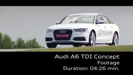 Der Audi A6 TDI Concept - Footage