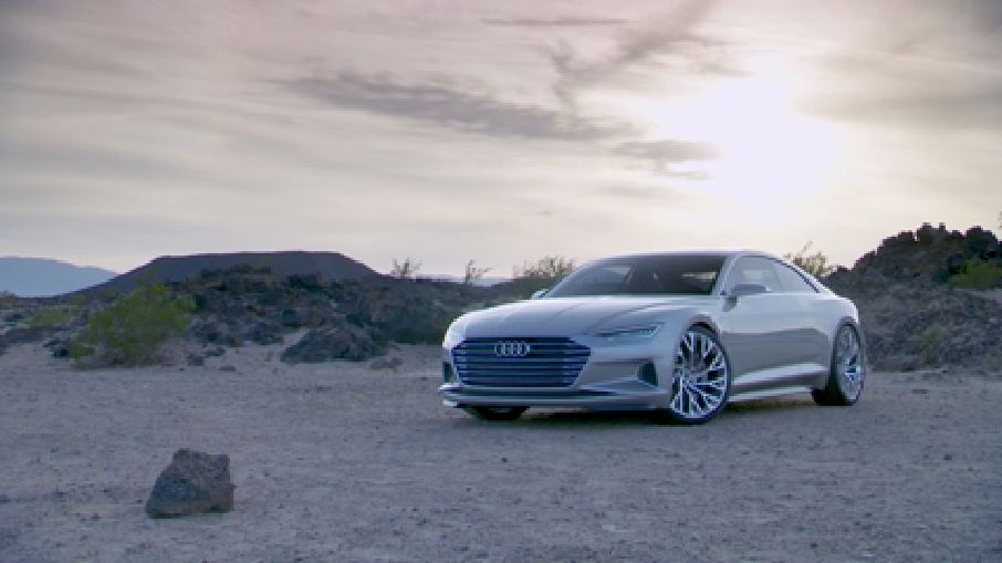 Der Audi prologue - Footage