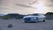 Der Audi prologue - Footage