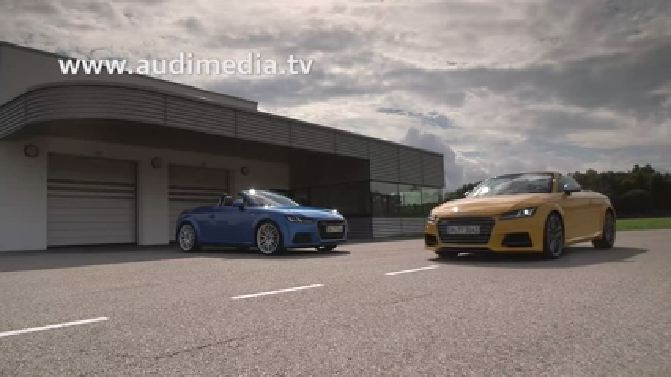 Exclusive road test of the new Audi TTS Roadster - Teaser