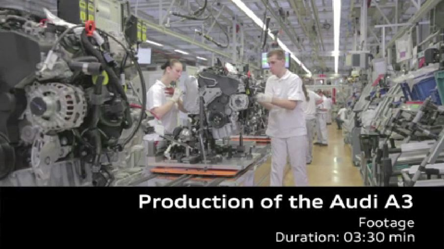AUDI AG Werk Ingolstadt – Audi A3 Produktion