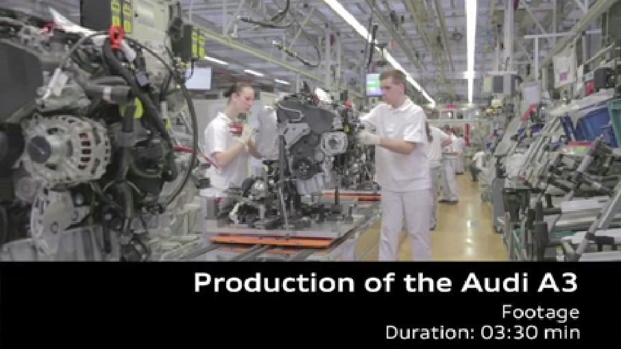 AUDI AG Ingolstadt plant – Audi A3 Production