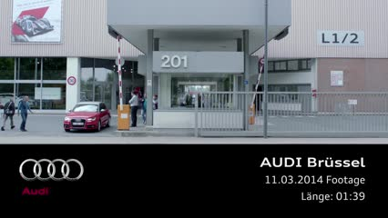 Audi site in Brussels
