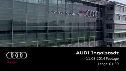 Audi site in Ingolstadt