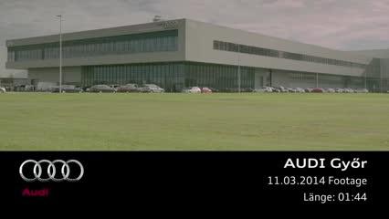 Audi site in Gyoer