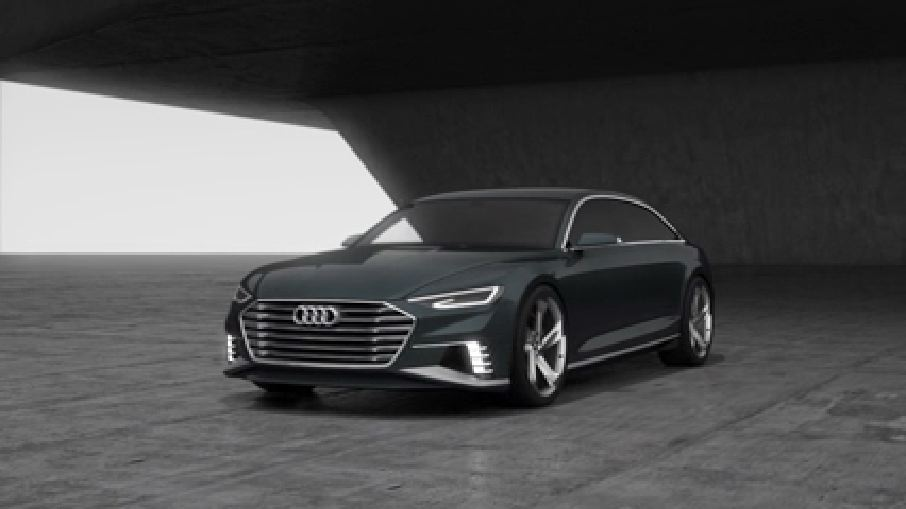 Der Audi prologue Avant - Animation