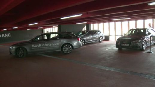Piloted parking in Ingolstadt
