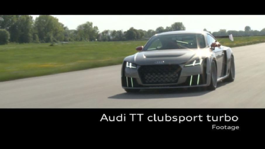 Audi TT clubsport turbo - Footage