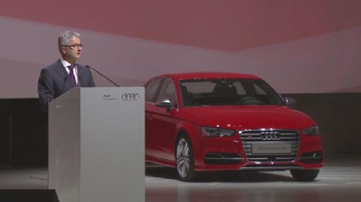 Audi Hungaria feiert Produktionsstart in neuem Automobilwerk