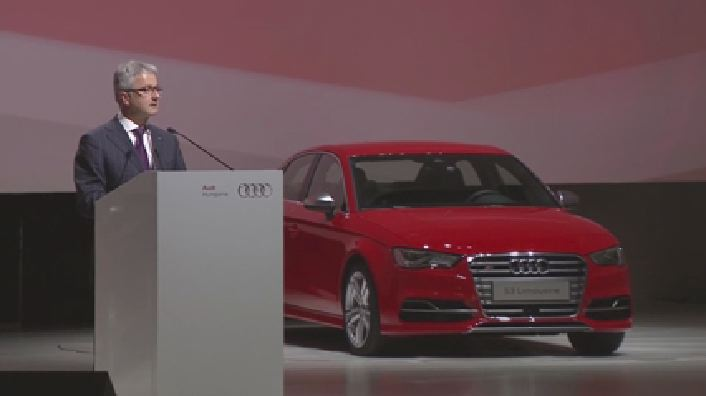 Audi Hungaria celebrates start of production in new automobile factory
