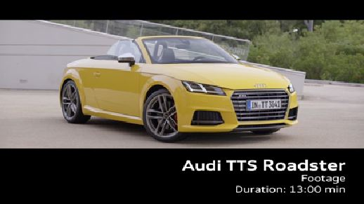 The TTS Roadster - Footage
