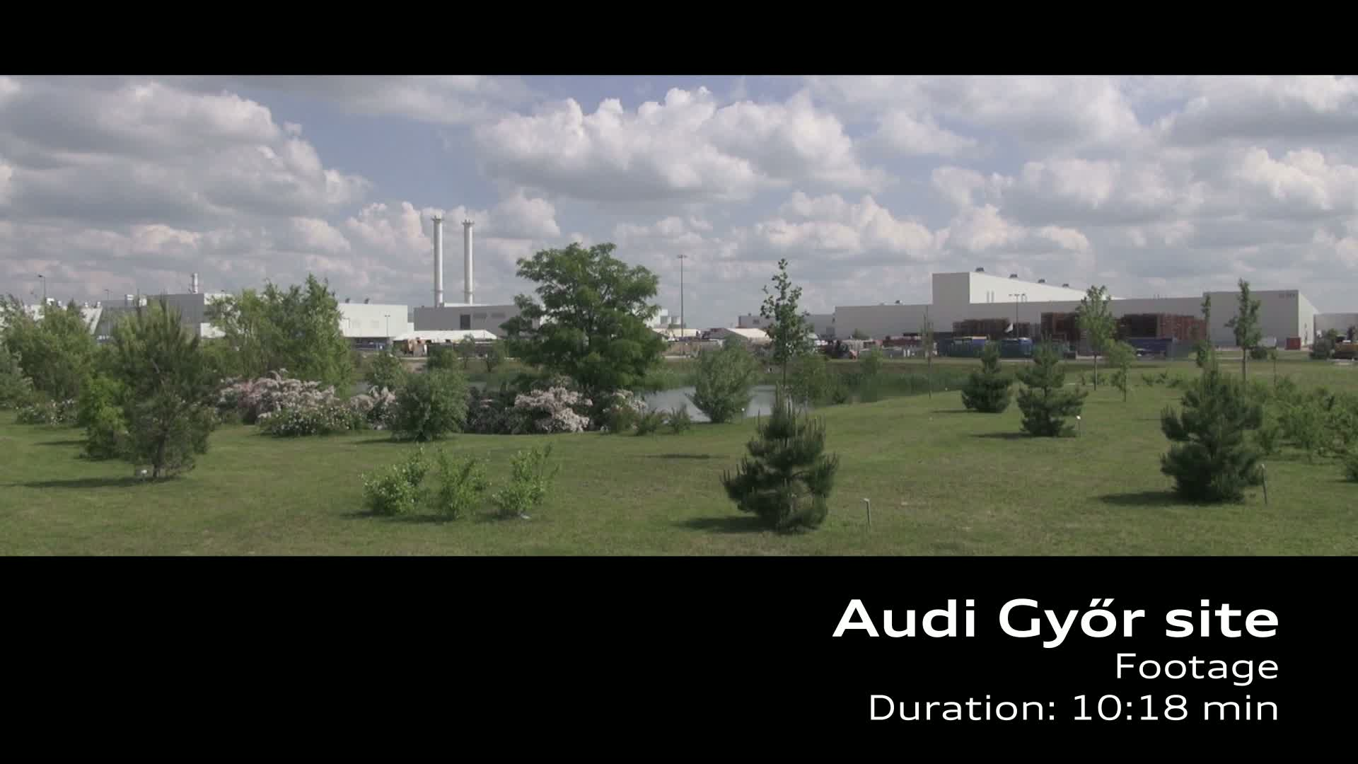 Audi Standort Györ - Produktion A3 Limousine Footage