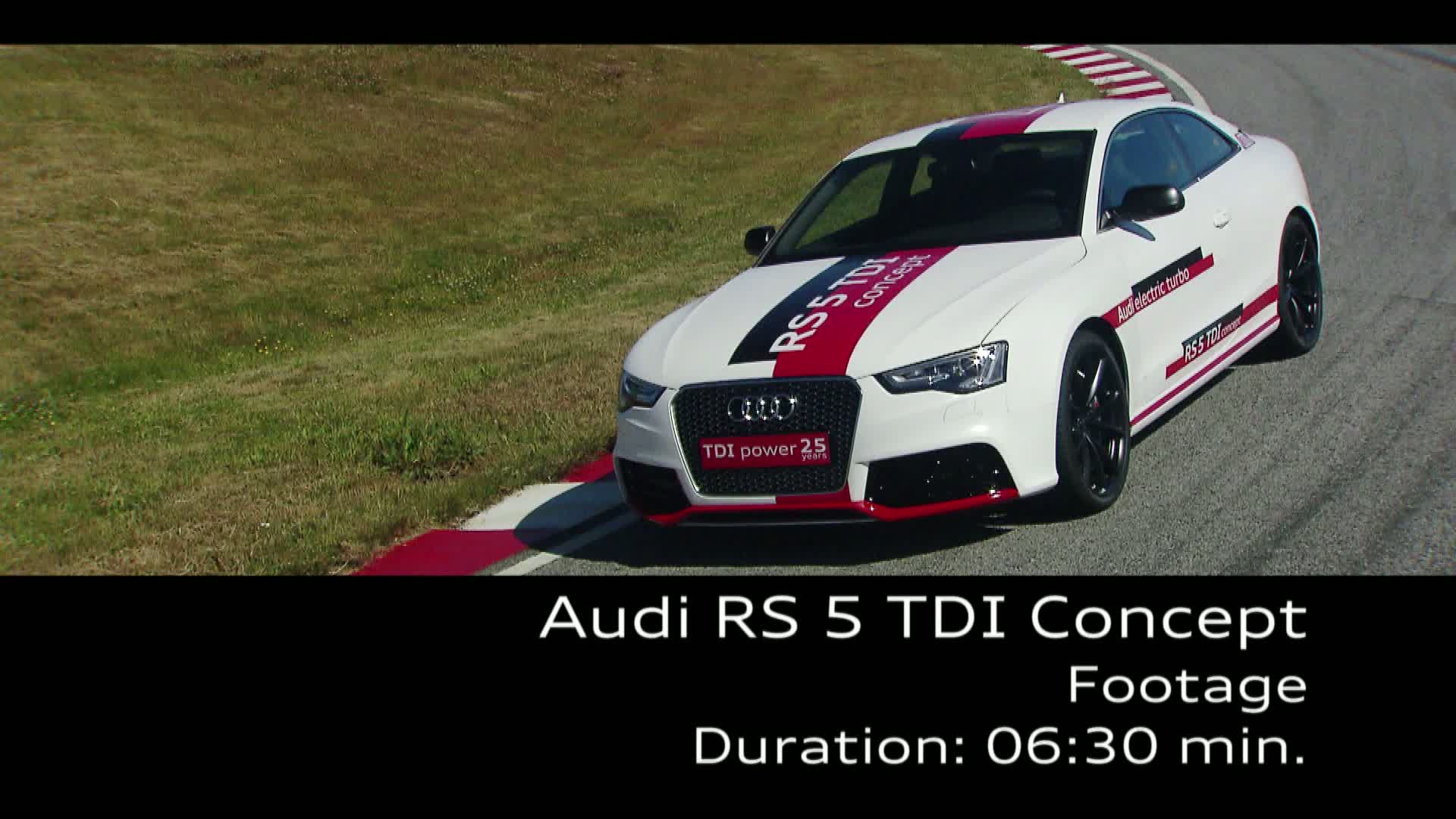 The Audi RS 5 TDI Concept