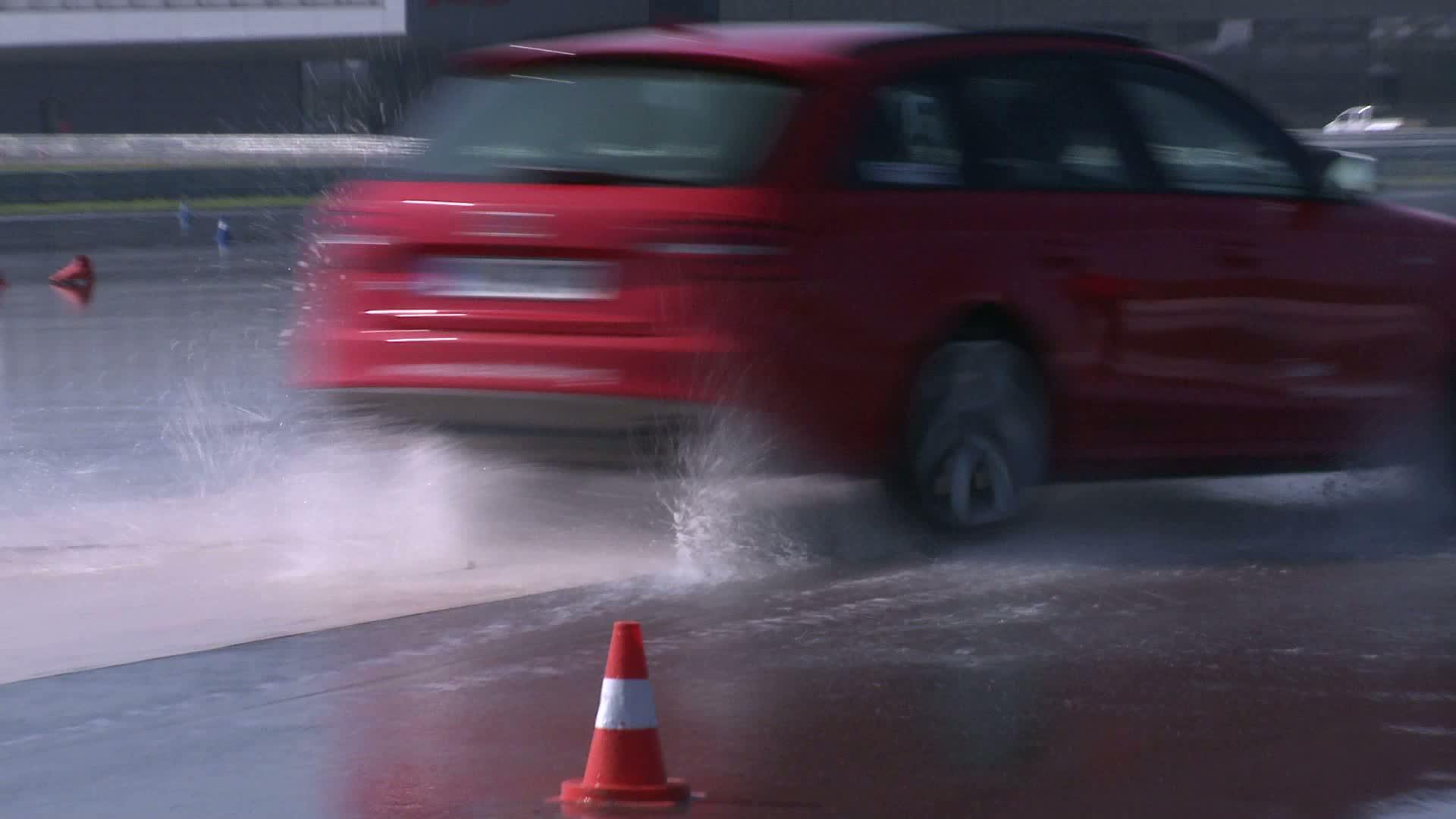 Audi driving experience mit deutschen Skispringern