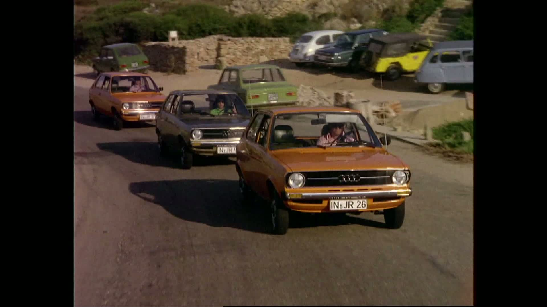 Audi history: The Audi 50 from 1974