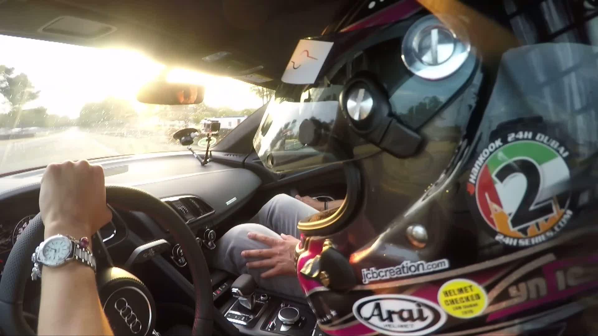 Eine Runde mit Mister Le Mans