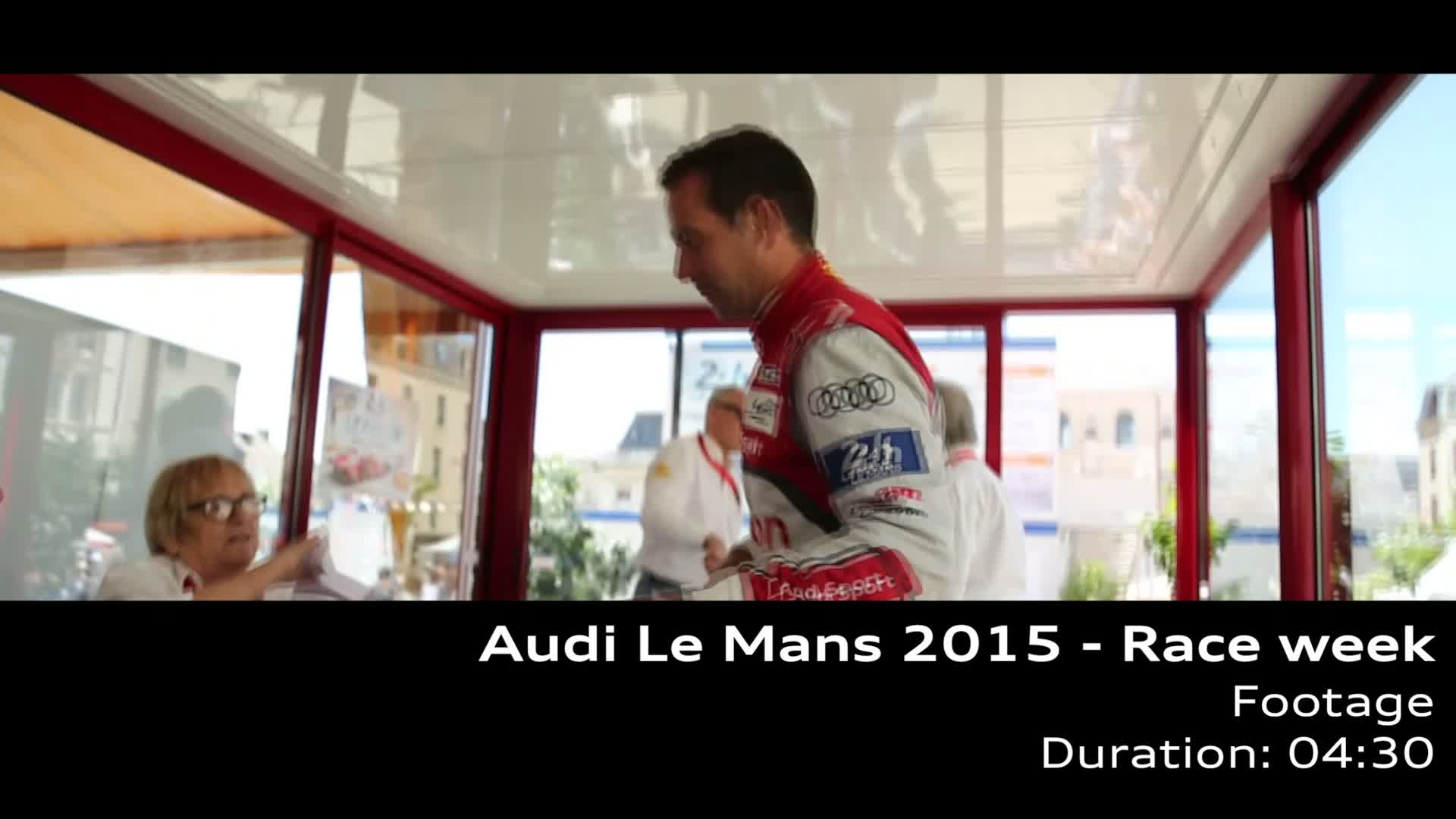 Audi Le Mans - Footage Rennwoche
