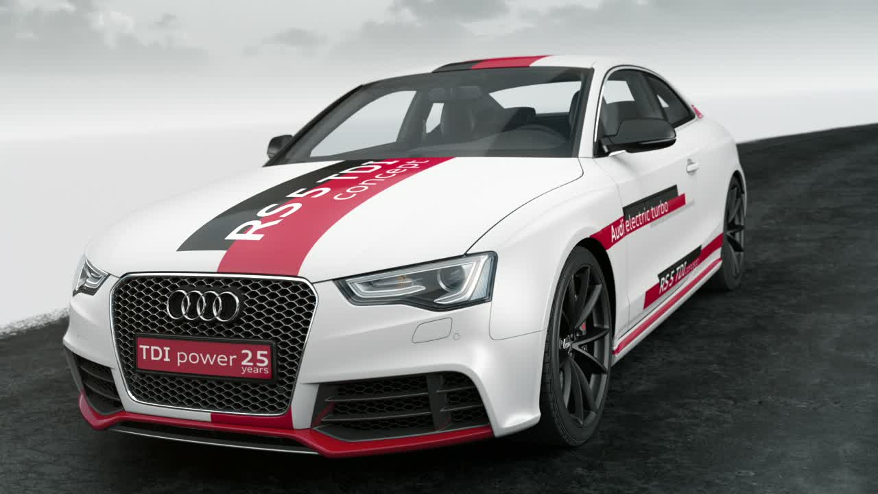 The Audi RS 5 TDI concept - Animation