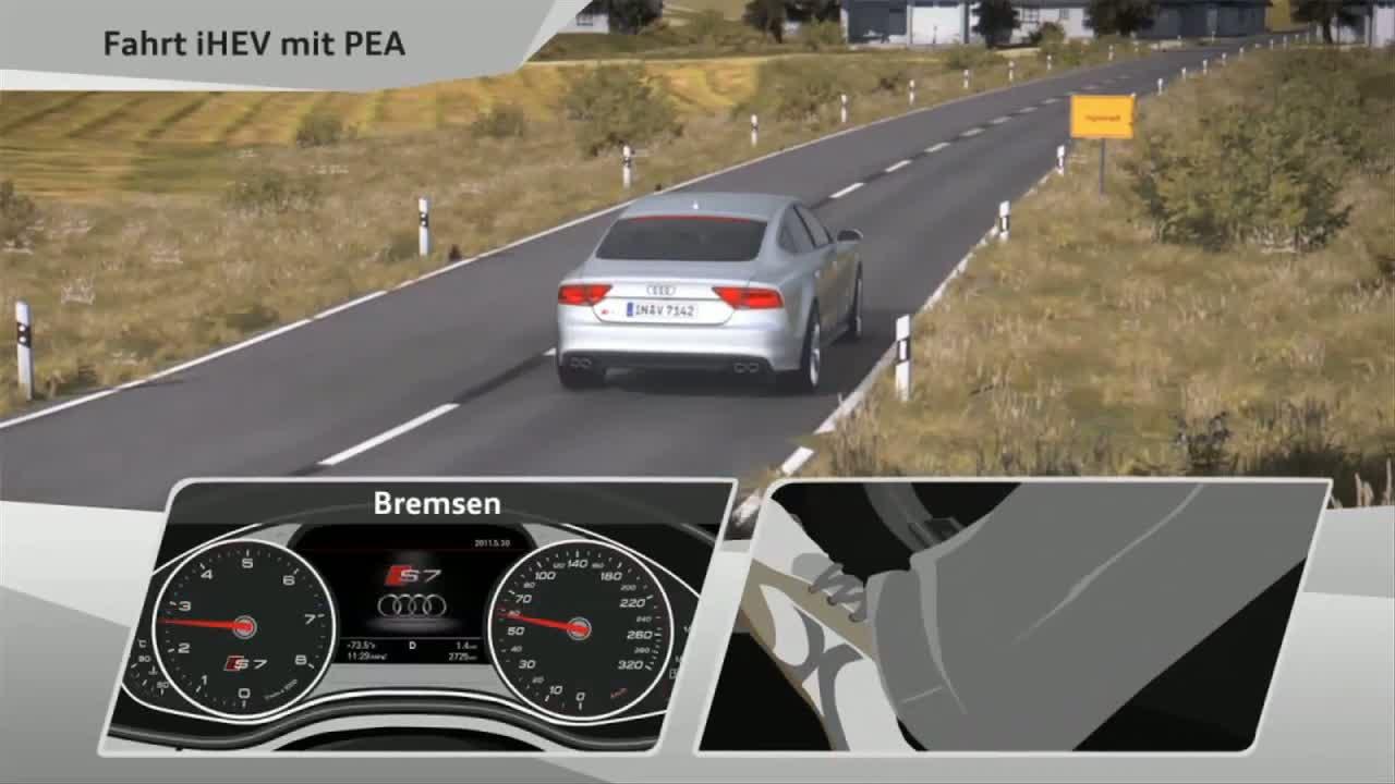Prädiktiver Effizienzassistent - Animation