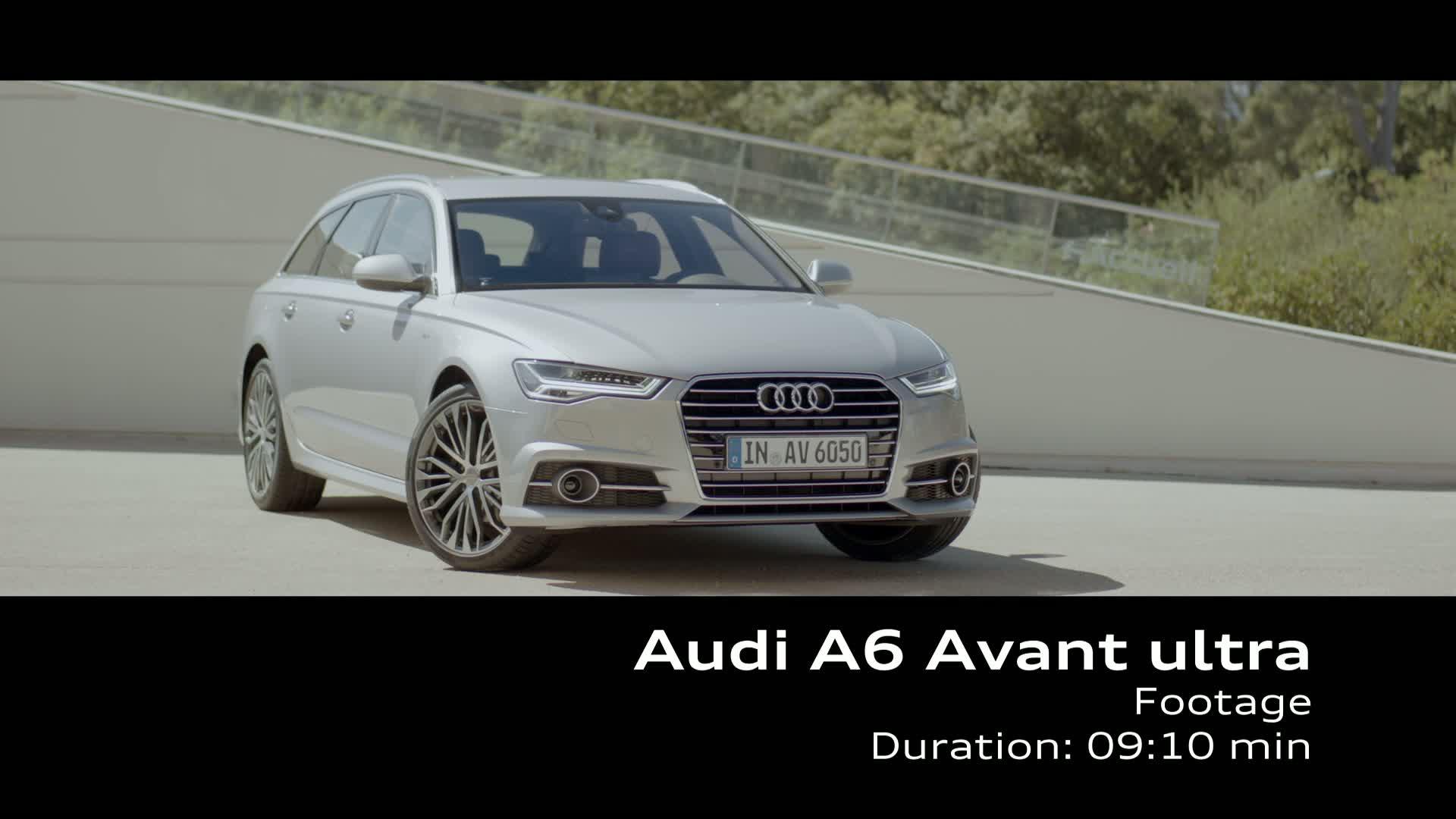 The Audi A6 Avant ultra - Footage