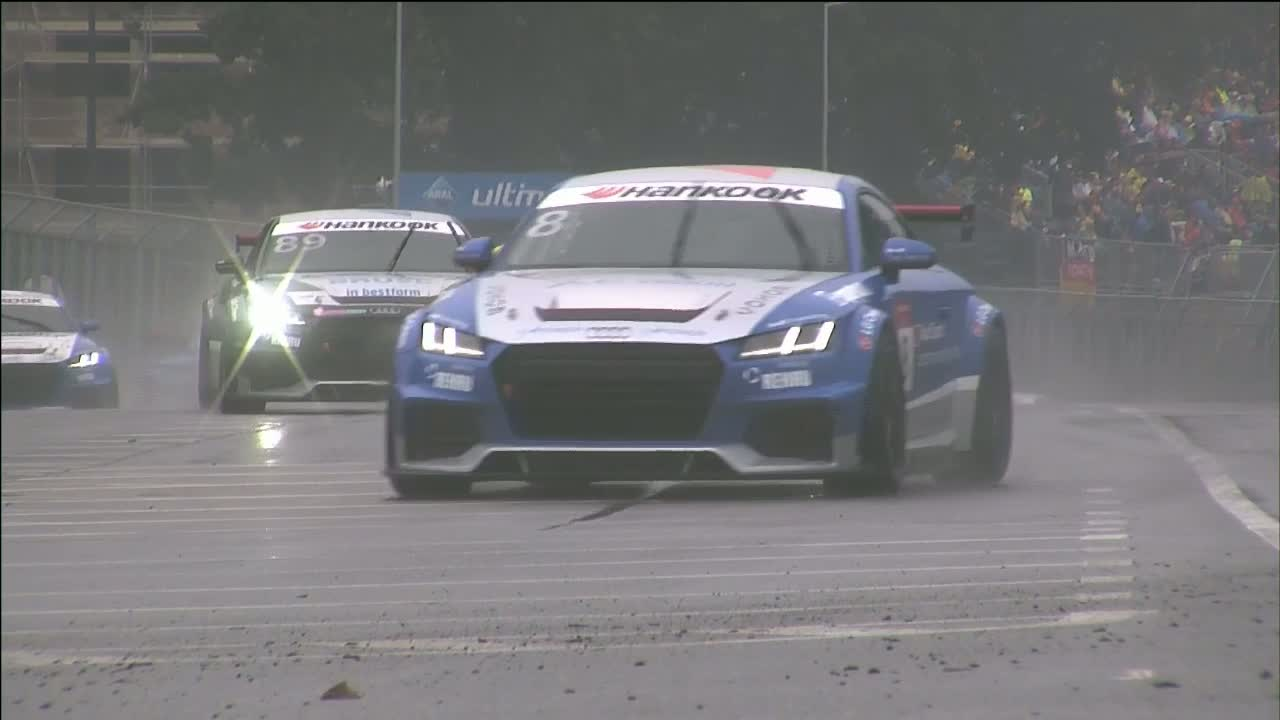 Audi Sport TT Cup 2015, Norisring Rennen 1