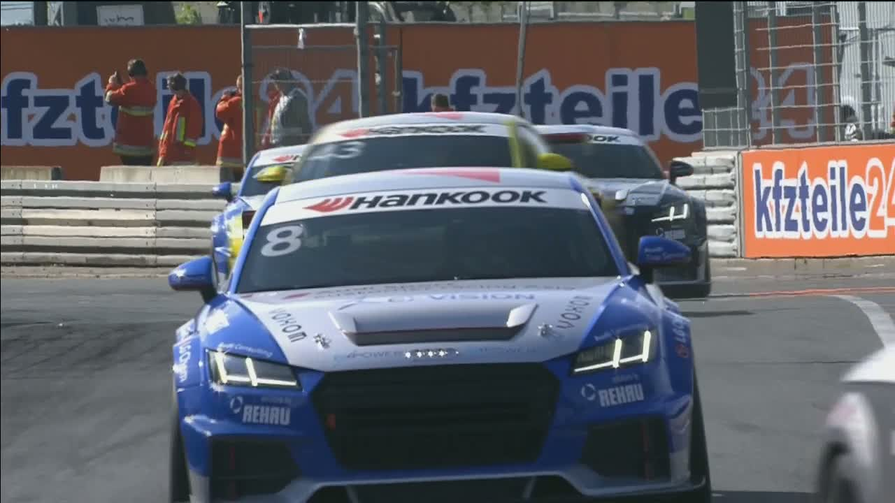Audi Sport TT Cup 2015, Norisring Rennen 2