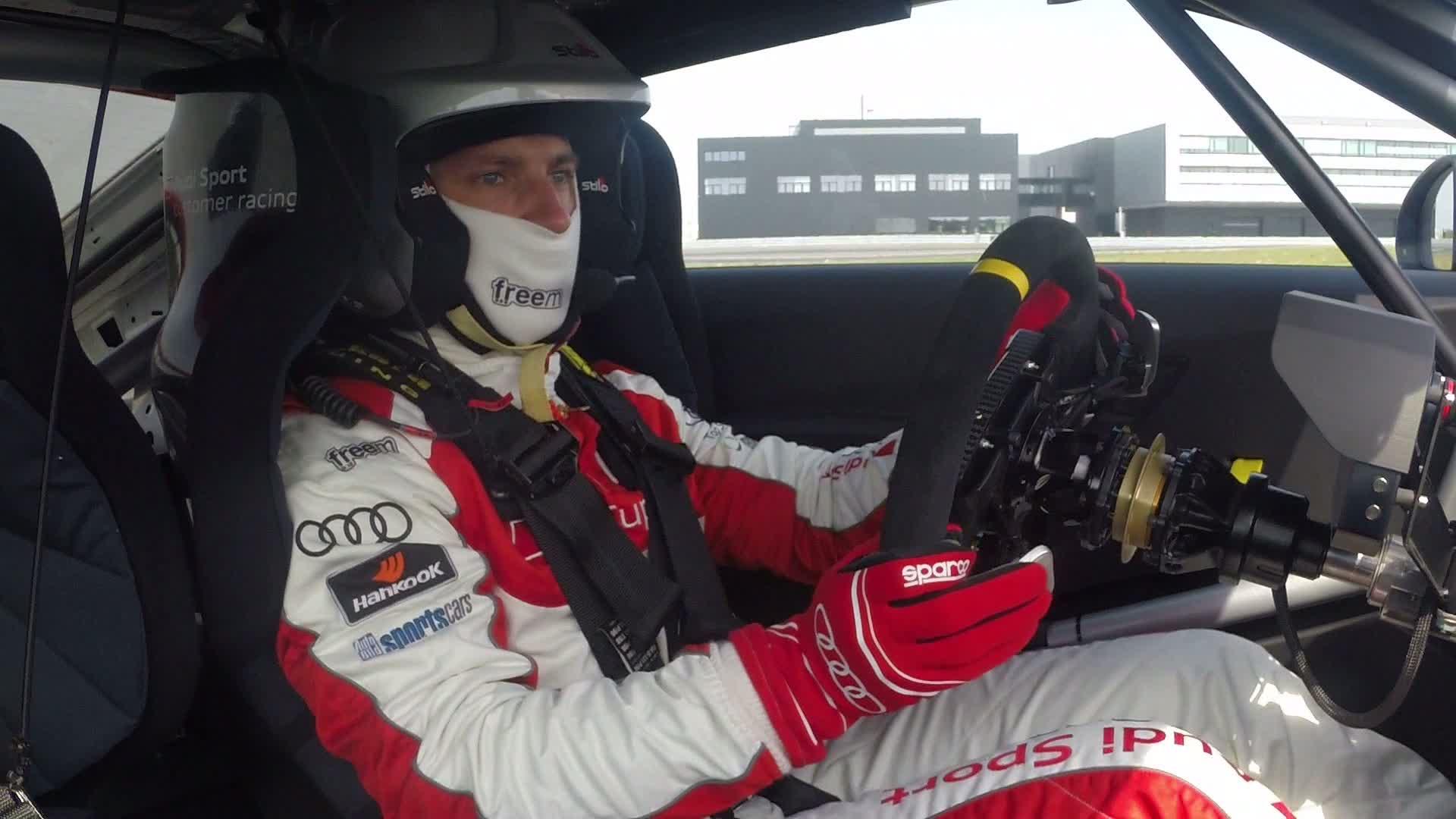 Ski-Superstars beim Audi Sport TT Cup