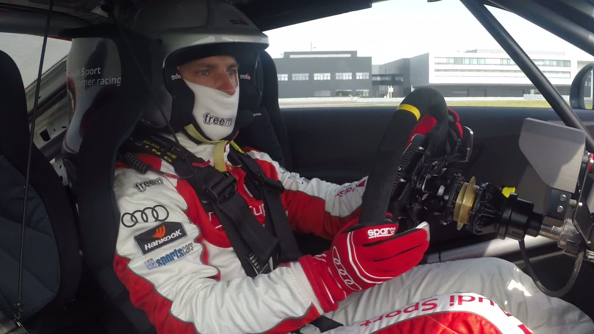 Ski superstars in Audi Sport TT Cup