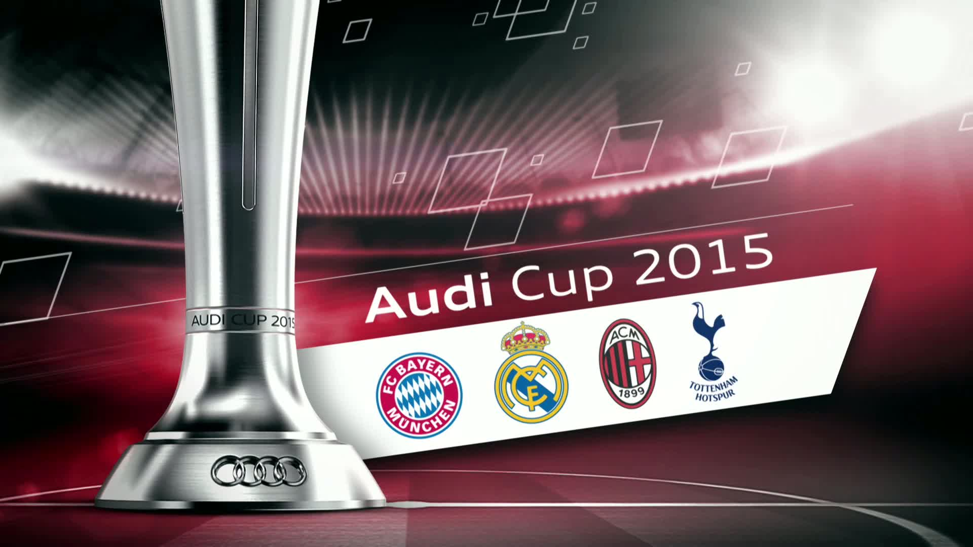 Audi Cup - best scenes of Semi Finals on August 4th