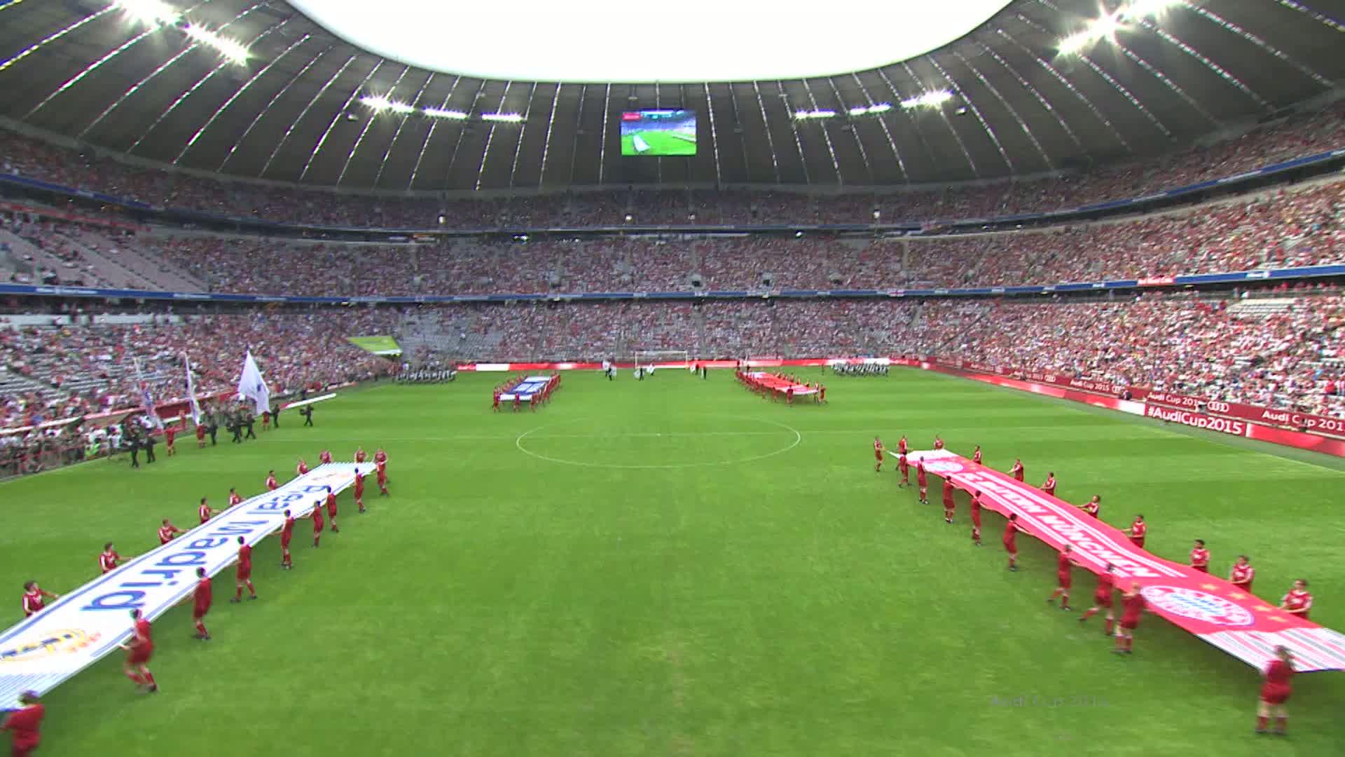 Audi Cup - Real Madrid gegen Tottenham Hotspur