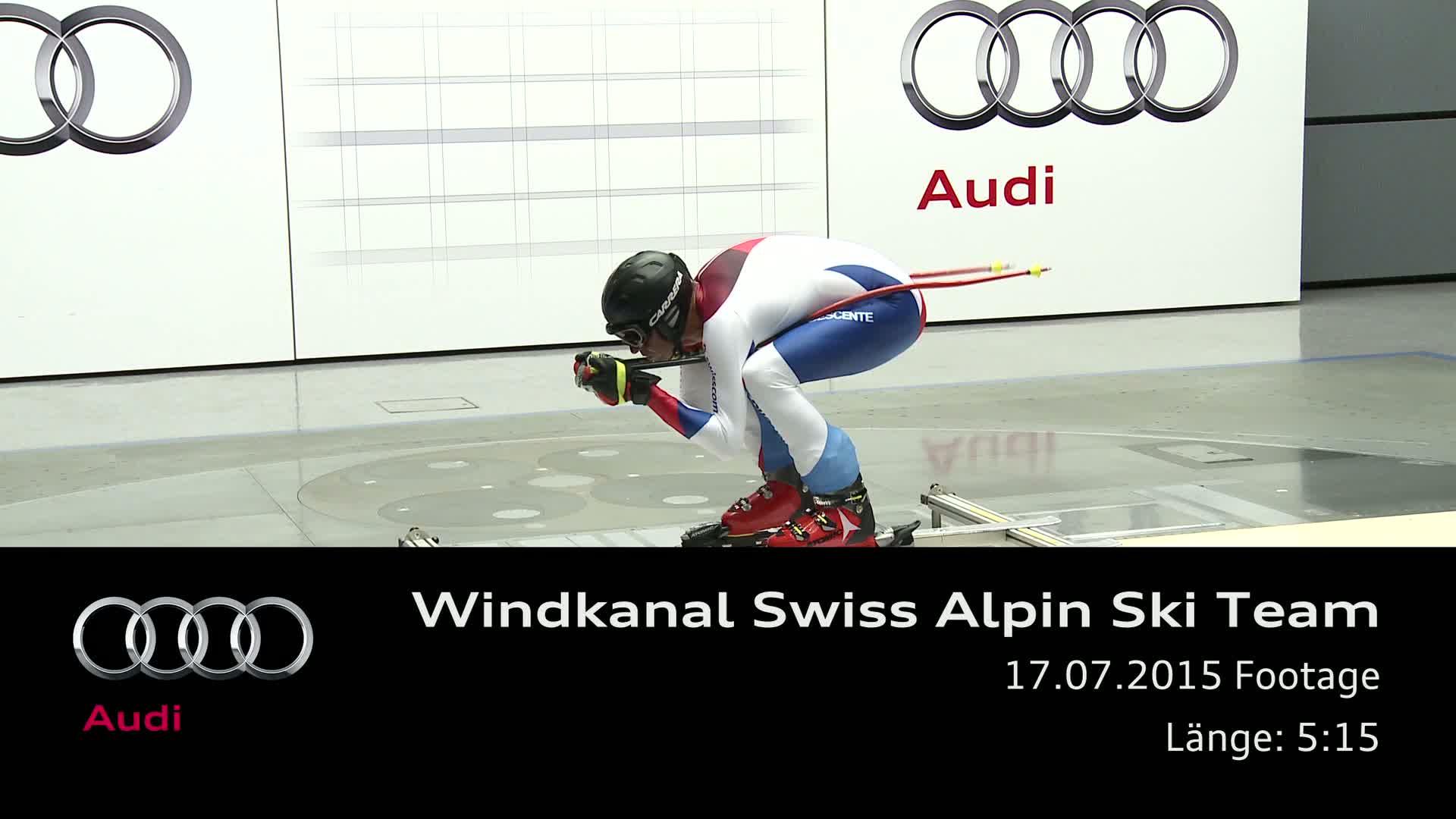 Stürmischer Tag für das Schweizer Ski-Nationalteam - Footage
