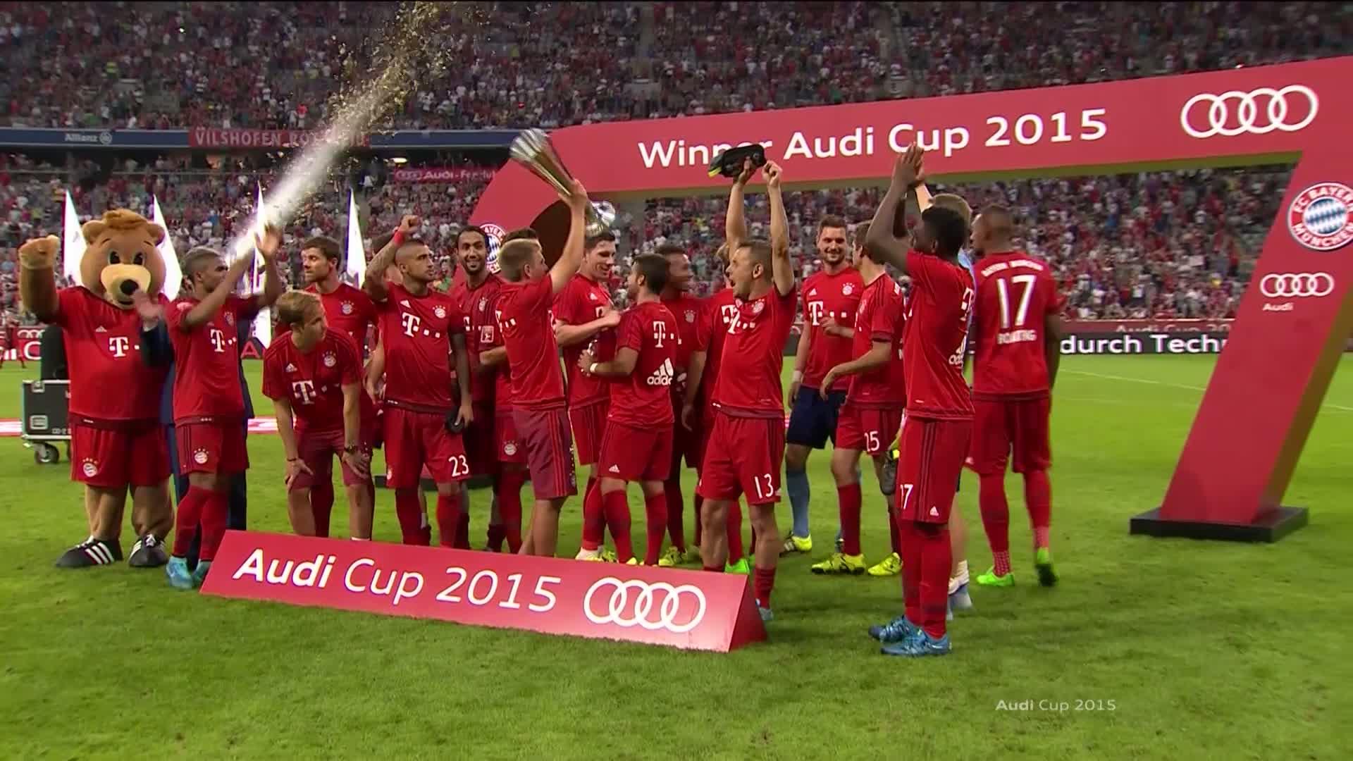 Audi Cup - FC Bayern München vs. Real Madrid 1:0