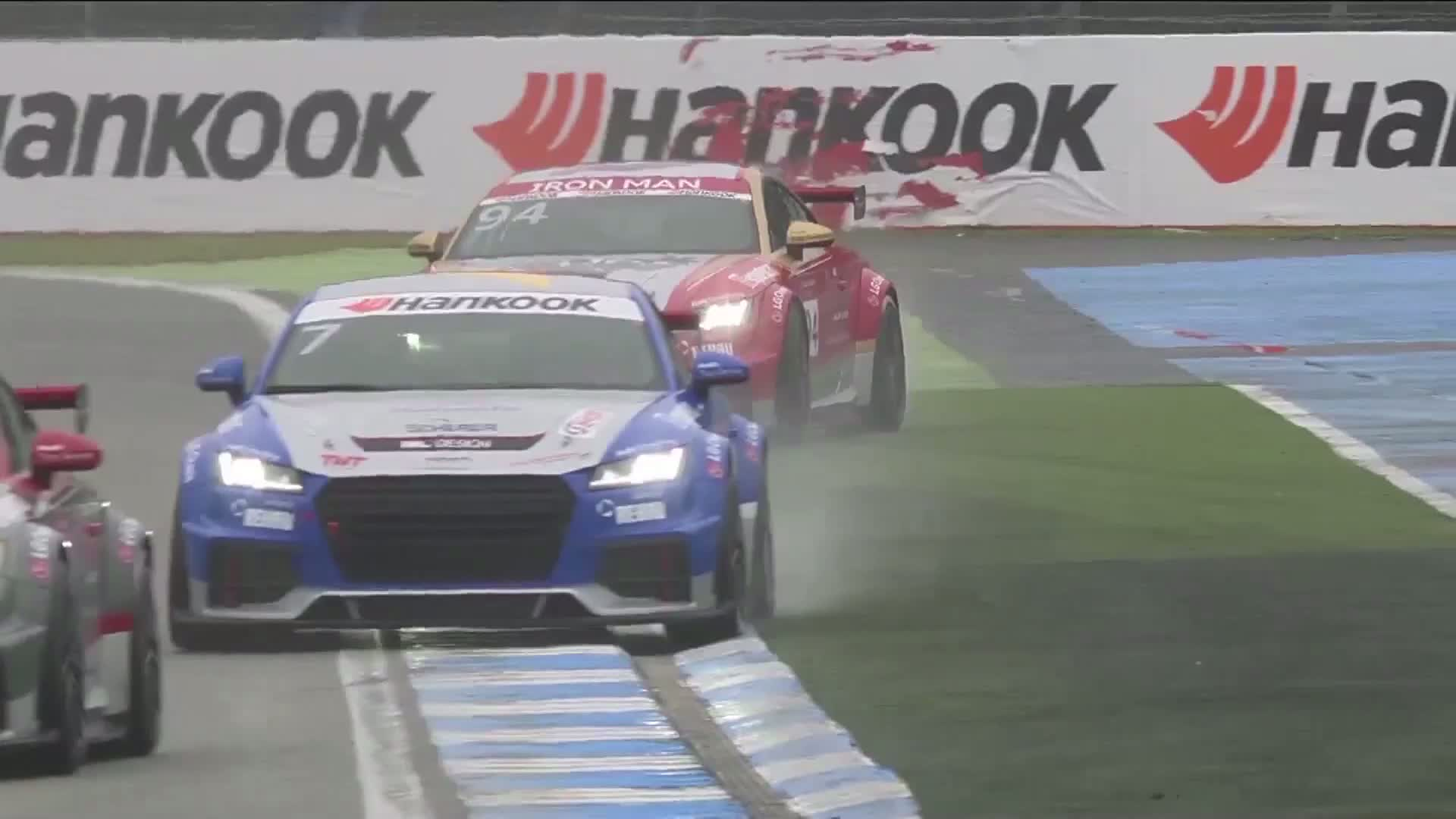 Audi Sport TT Cup celebrates successful world premiere at Hockenheim
