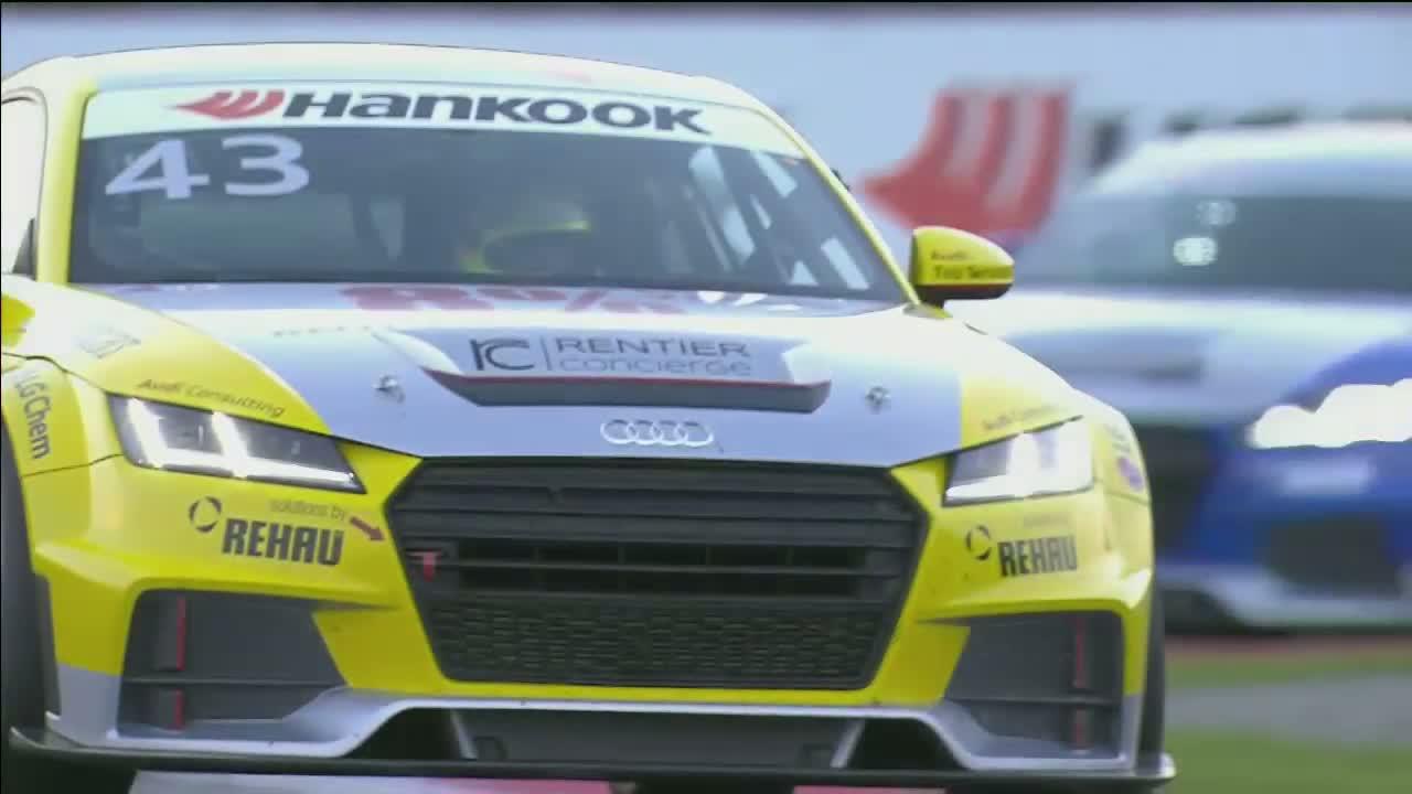 Audi Sport TT Cup 2015, Oschersleben Rennen 1