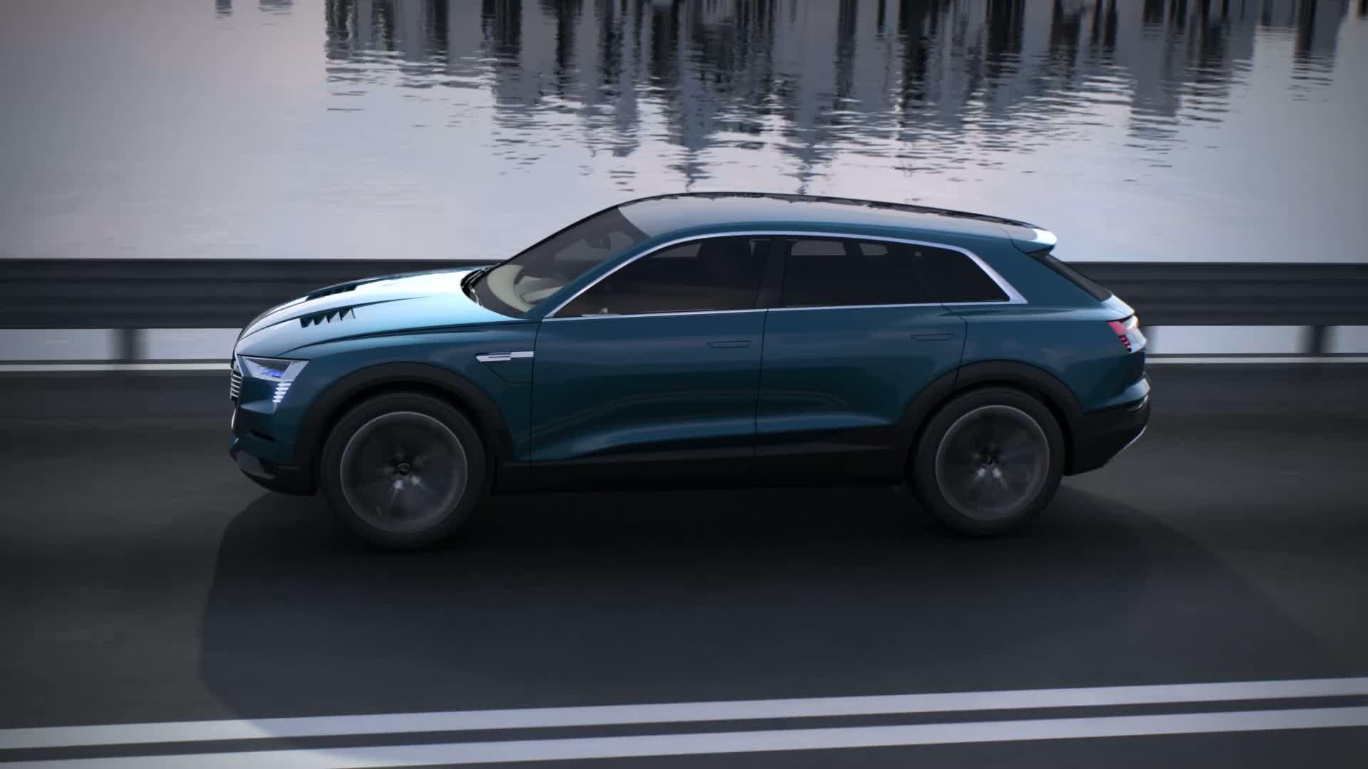 Audi e-tron quattro concept - Animation