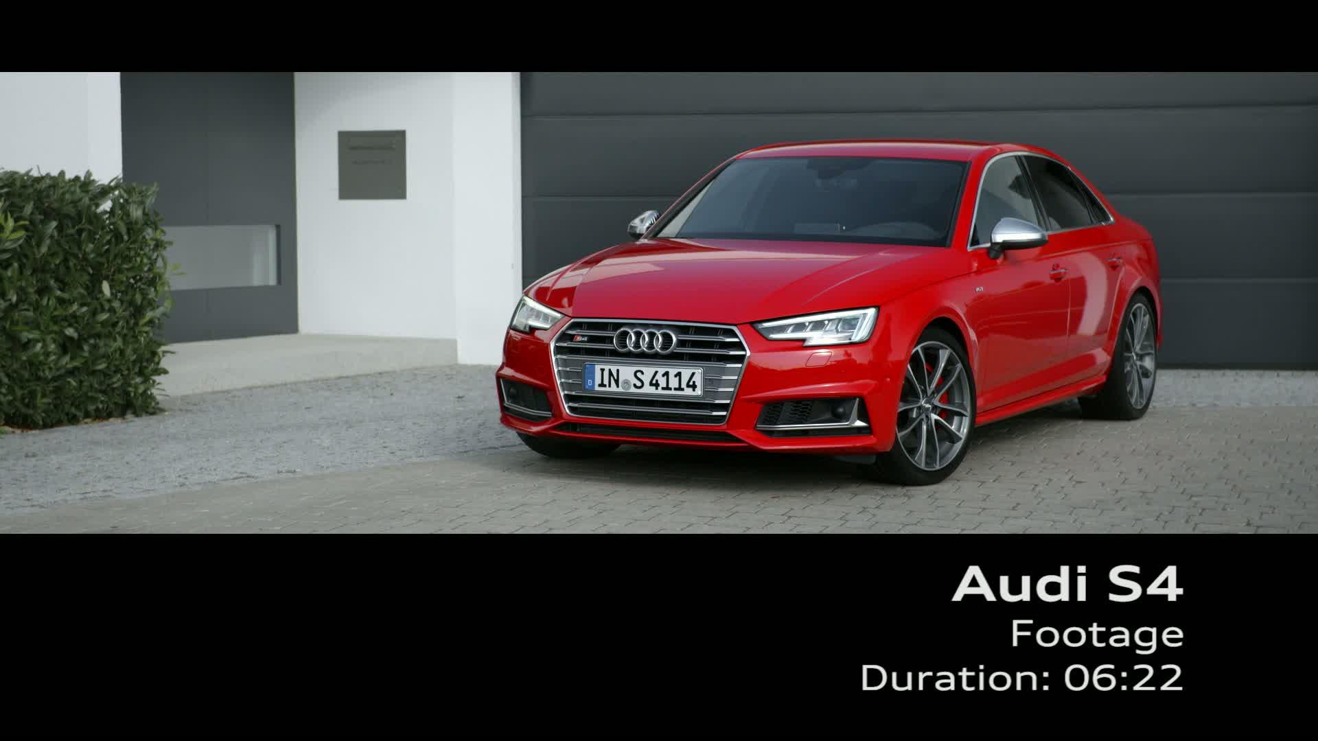 Audi S4 - Footage