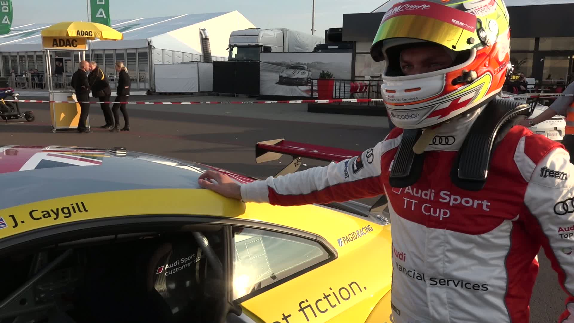 Audi Sport TT Cup - 'Our weekend' with Josh Caygill in Oschersleben