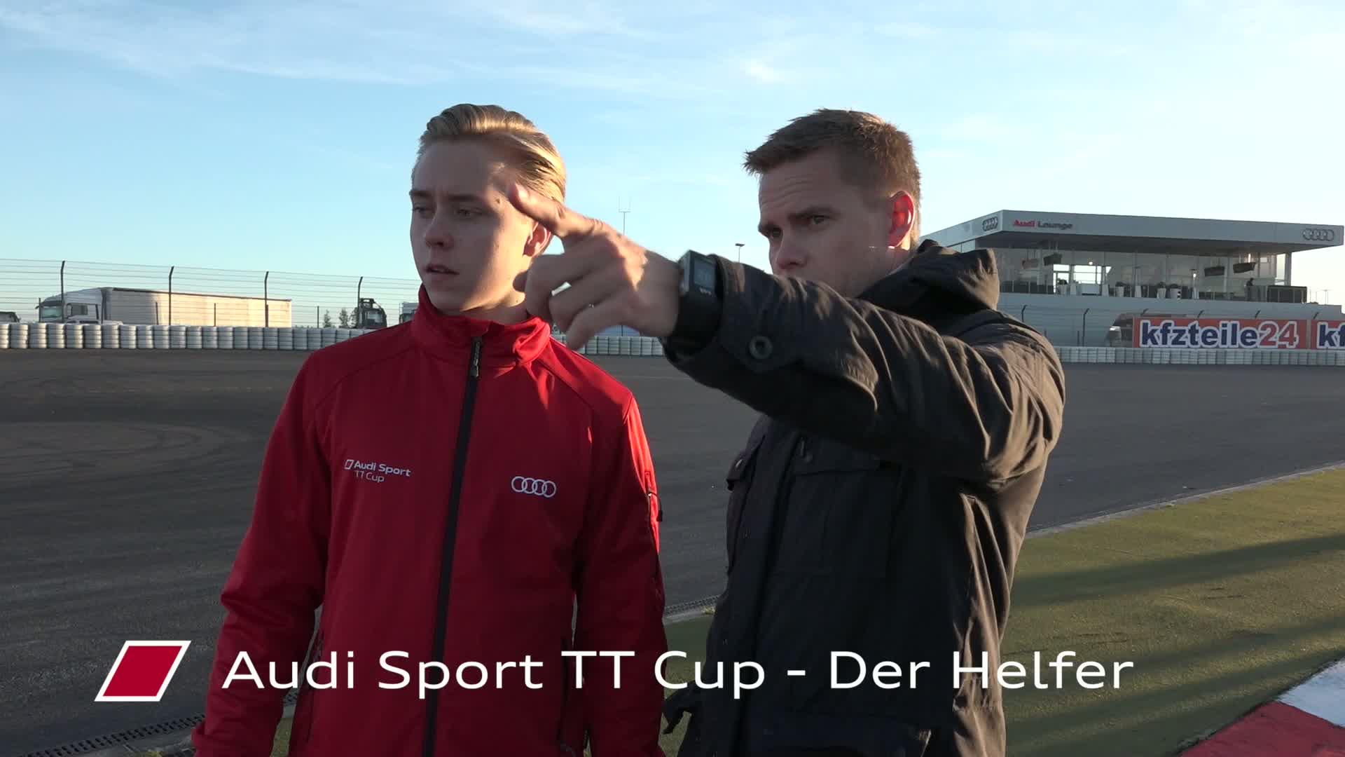 Audi Sport TT Cup – Der Helfer