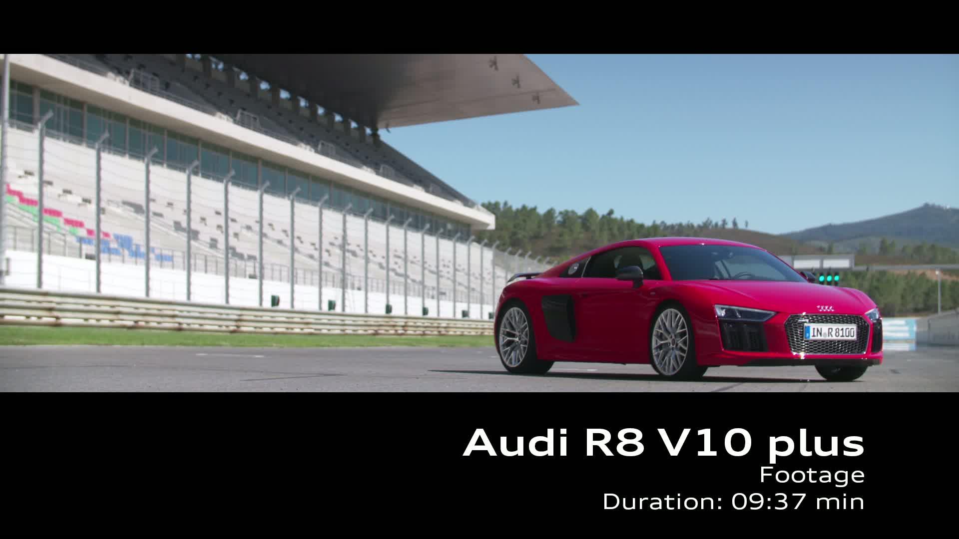 Audi R8 V10 plus - Footage on Location Portimao