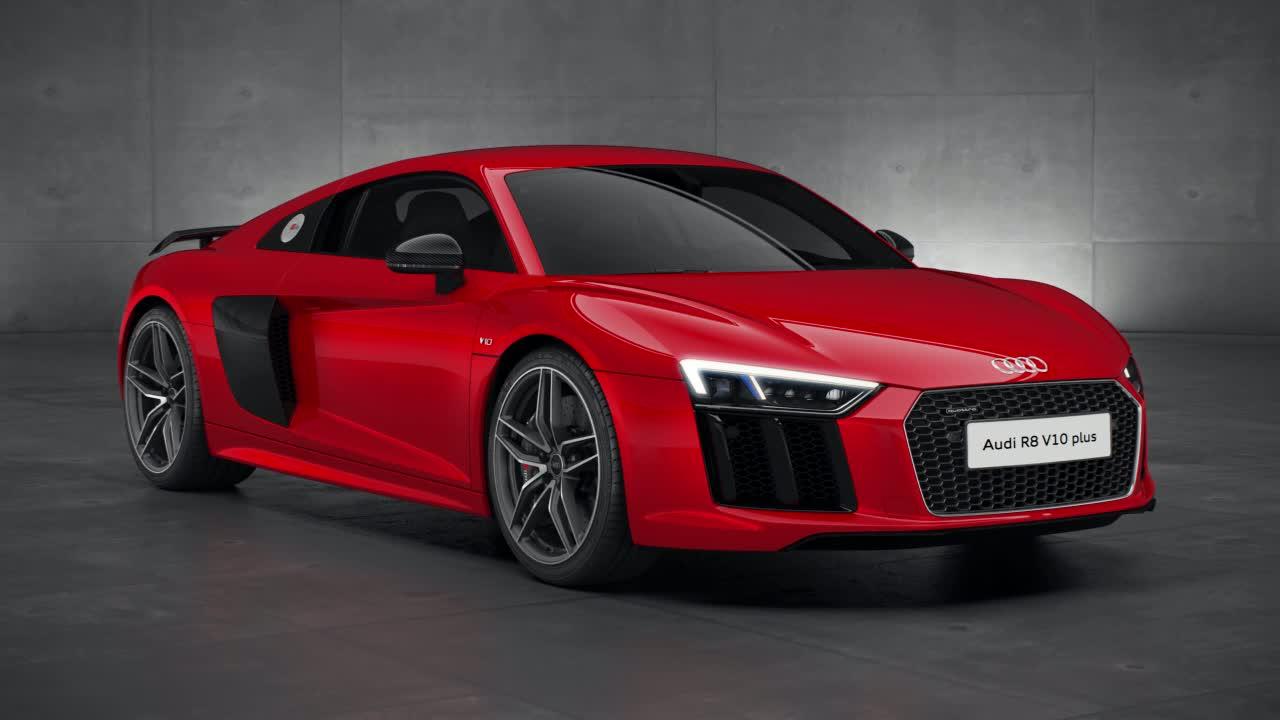Audi R8 V10 plus - drivetrain