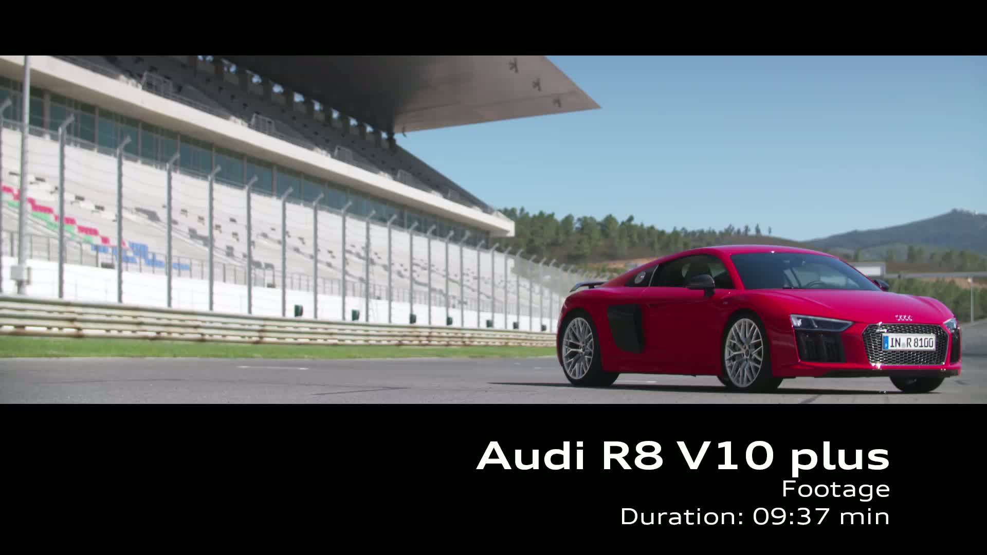 Audi R8 V10 plus - Footage on Location Portimao