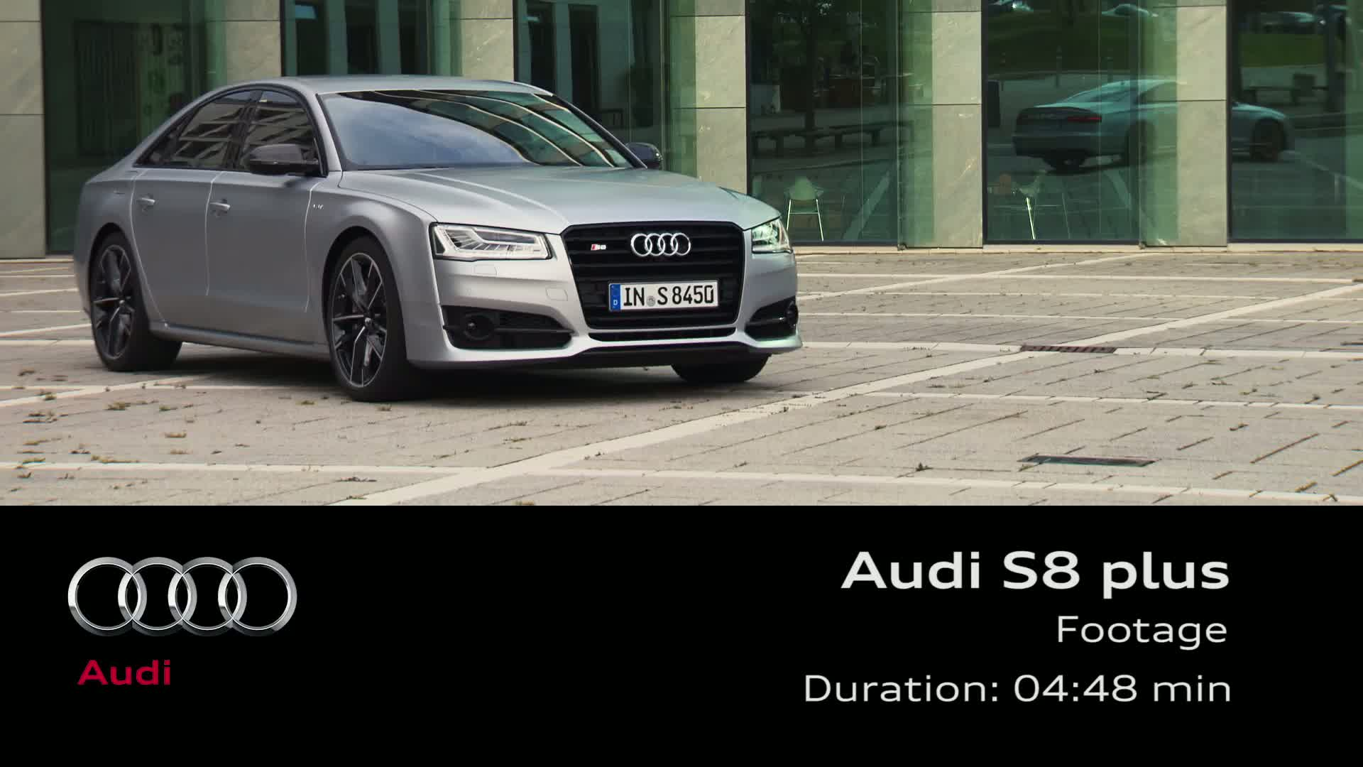 Der Audi S8 plus - Footage