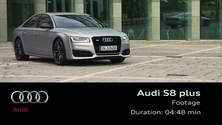 Der Audi S8 plus - Footage
