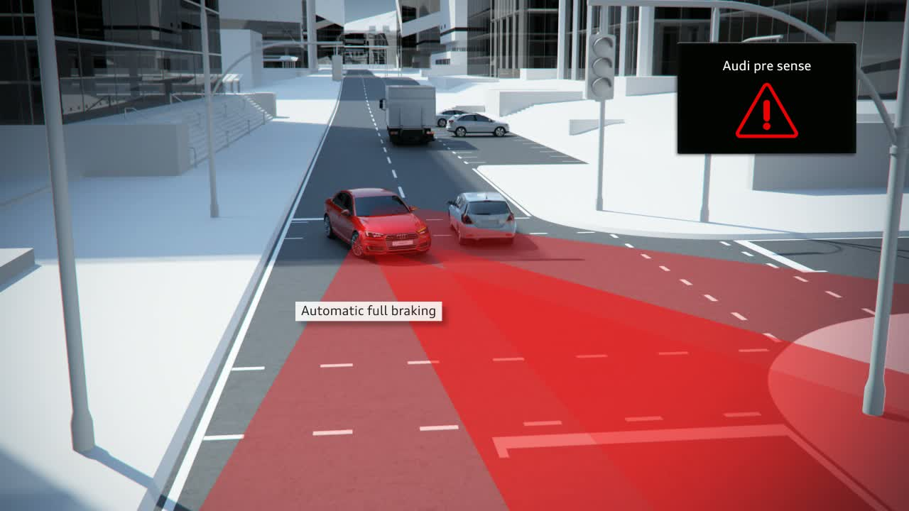 Audi A4 - Animation turn assist