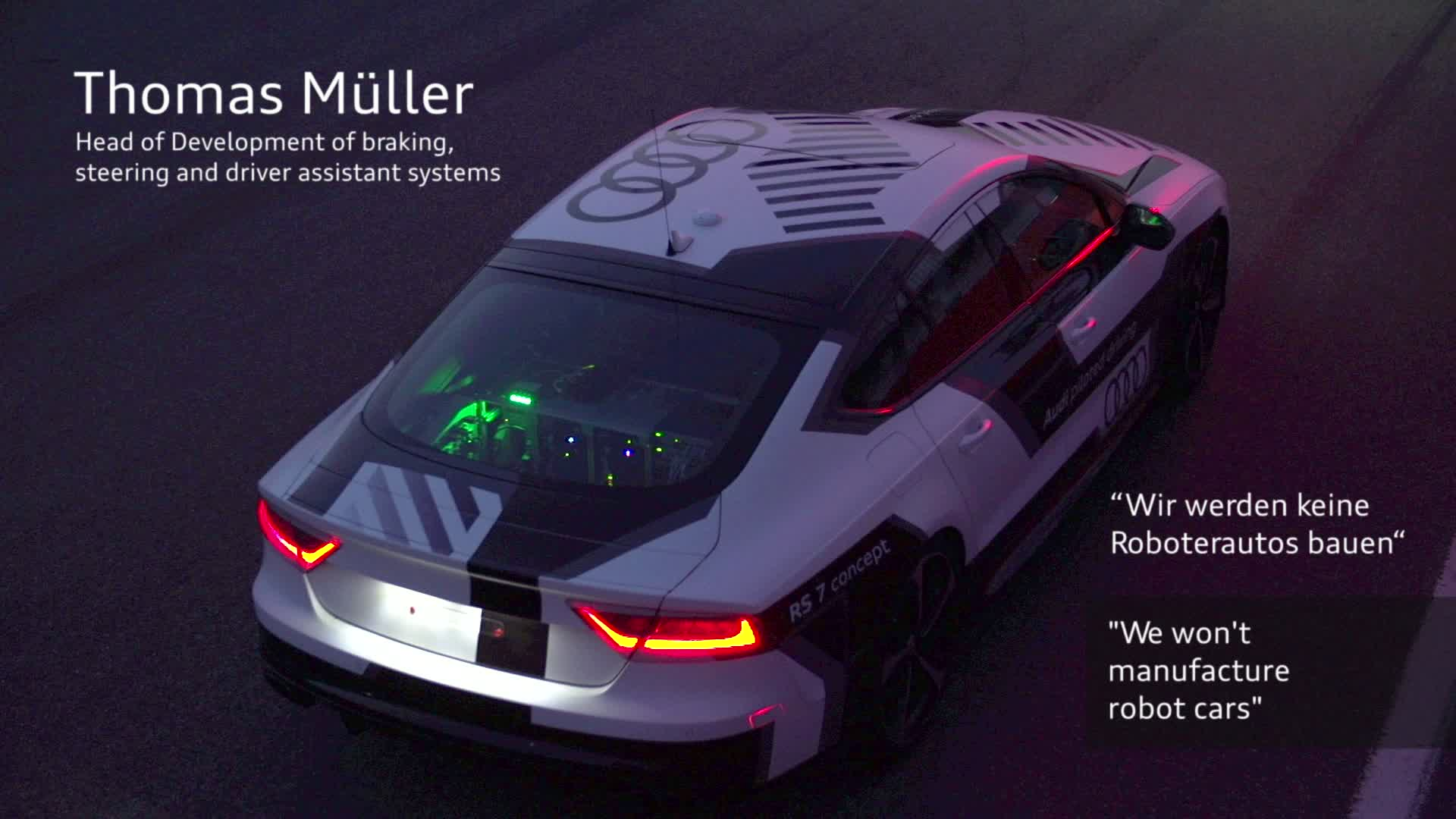 Piloted Driving - Interview with Thomas Müller